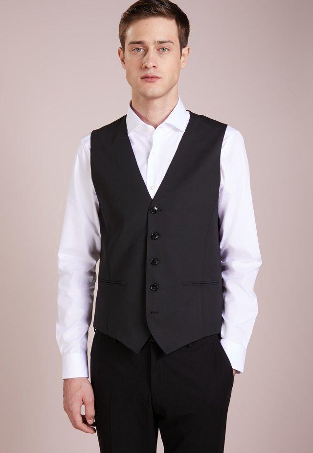MALM - Suit waistcoat - black