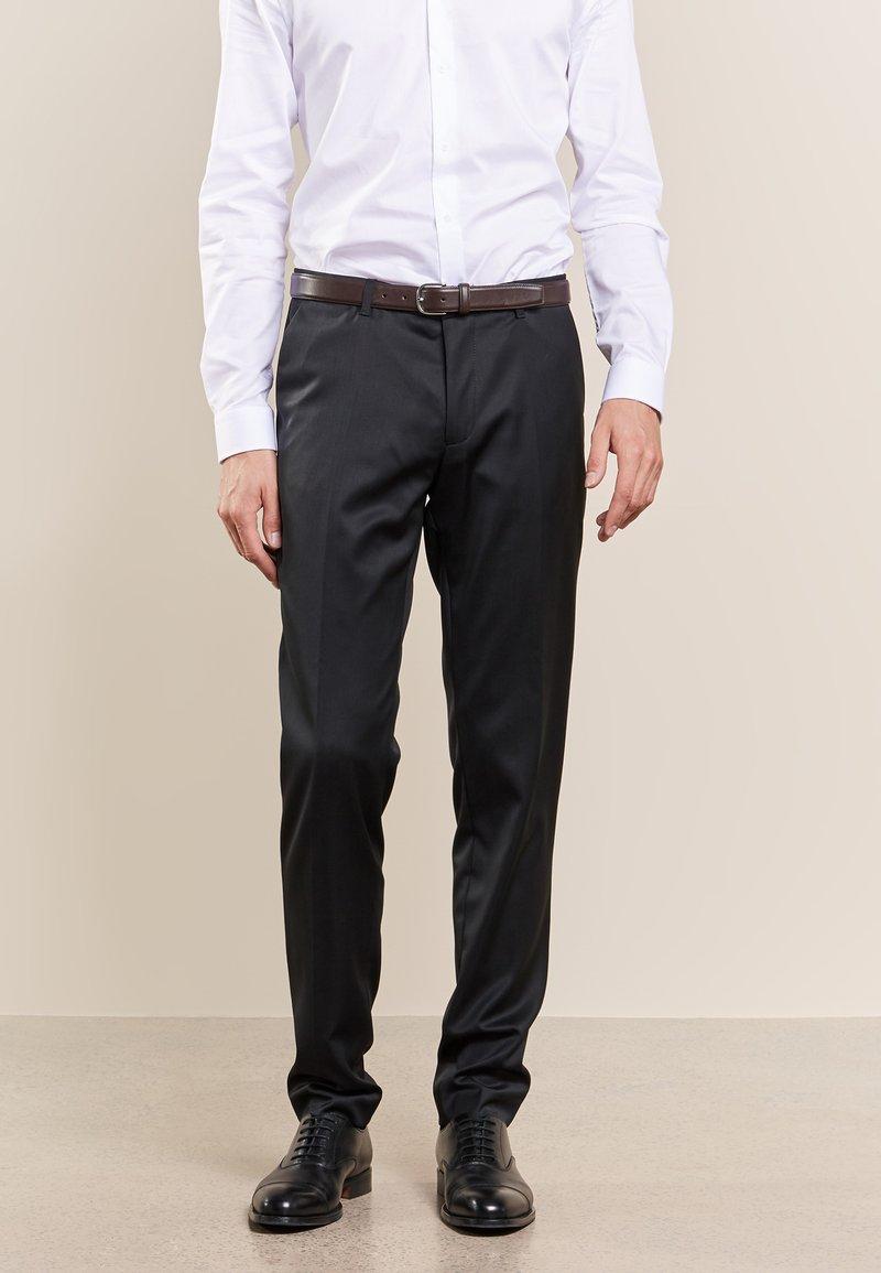 DRYKORN - FOOT - Suit trousers - black
