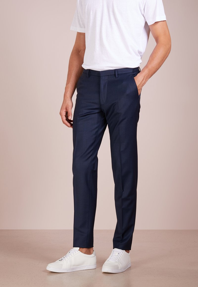 DRYKORN - FOOT - Suit trousers - royal