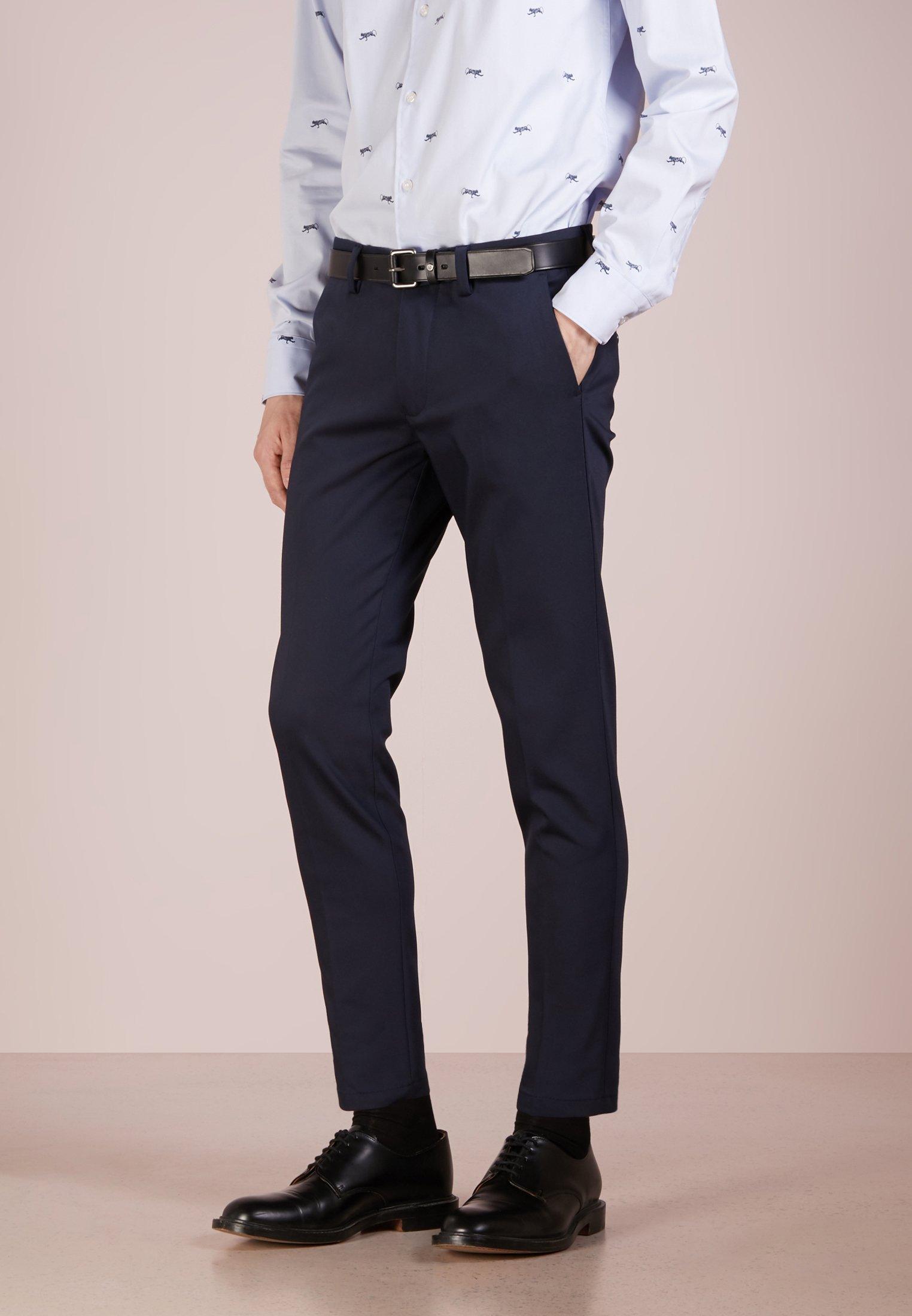 DRYKORN SIGHT - Spodnie garniturowe - navy