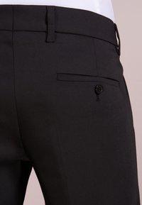 DRYKORN - SIGHT - Pantalon de costume - black - 3