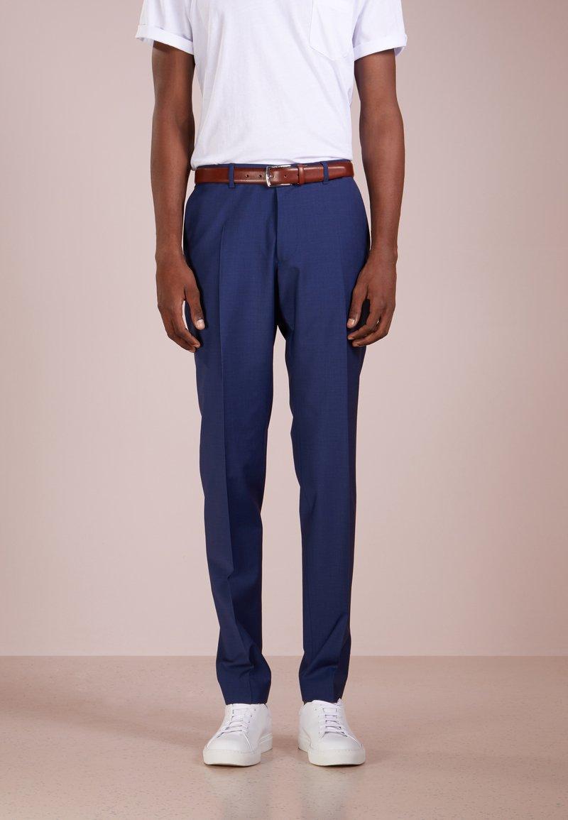 DRYKORN - FOOT - Oblekové kalhoty - blau