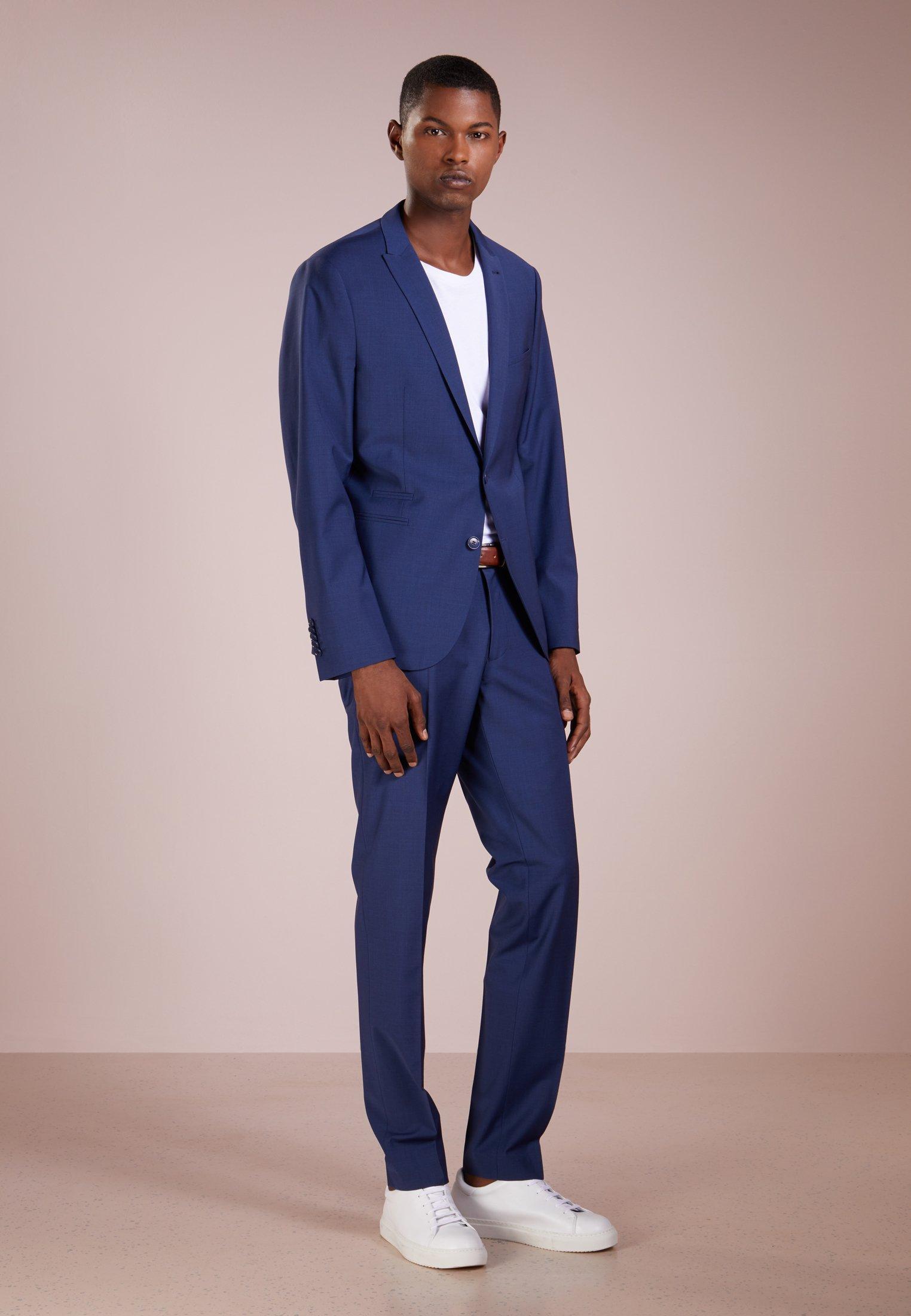 Drykorn Foot - Kostymbyxor Blau