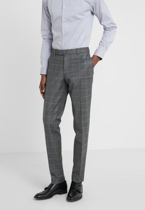 PIET - Pantalón de traje - anthracite