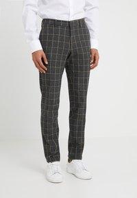 DRYKORN - SIGHT - Pantalon de costume - anthracite - 0