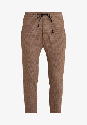 JEGER - Spodnie materiałowe - beige/rost