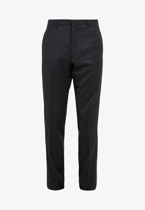 QUINTEN - Suit trousers - black