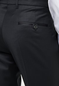 DRYKORN - QUINTEN - Spodnie garniturowe - black - 5