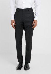 DRYKORN - QUINTEN - Spodnie garniturowe - black - 0