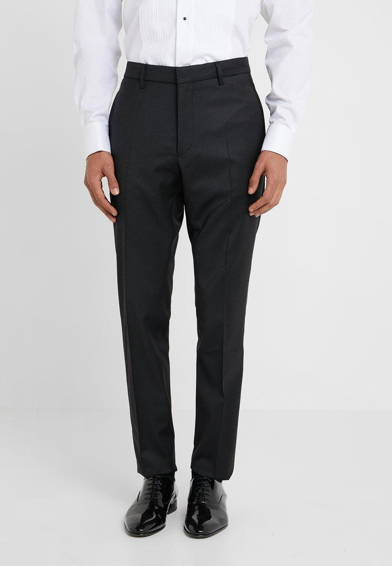 DRYKORN - QUINTEN - Spodnie garniturowe - black