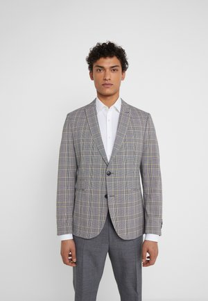 IRVING - Chaqueta de traje - grey/yellow