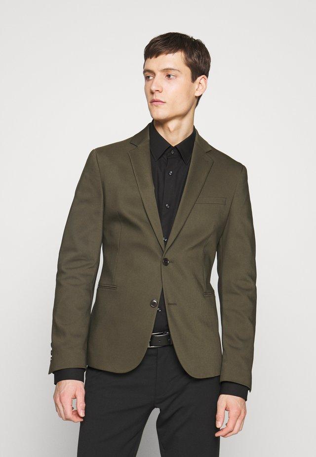 HURLEY - Veste de costume - olive