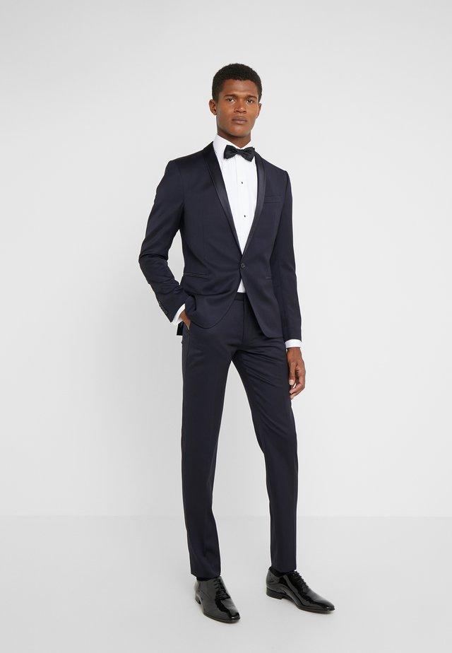 BOUSSAC SLIM FIT - Suit - navy
