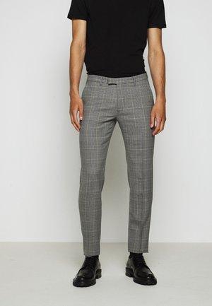 PIET - Jakkesæt bukser - grey