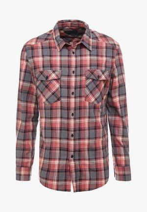 JURON - Overhemd - red/black