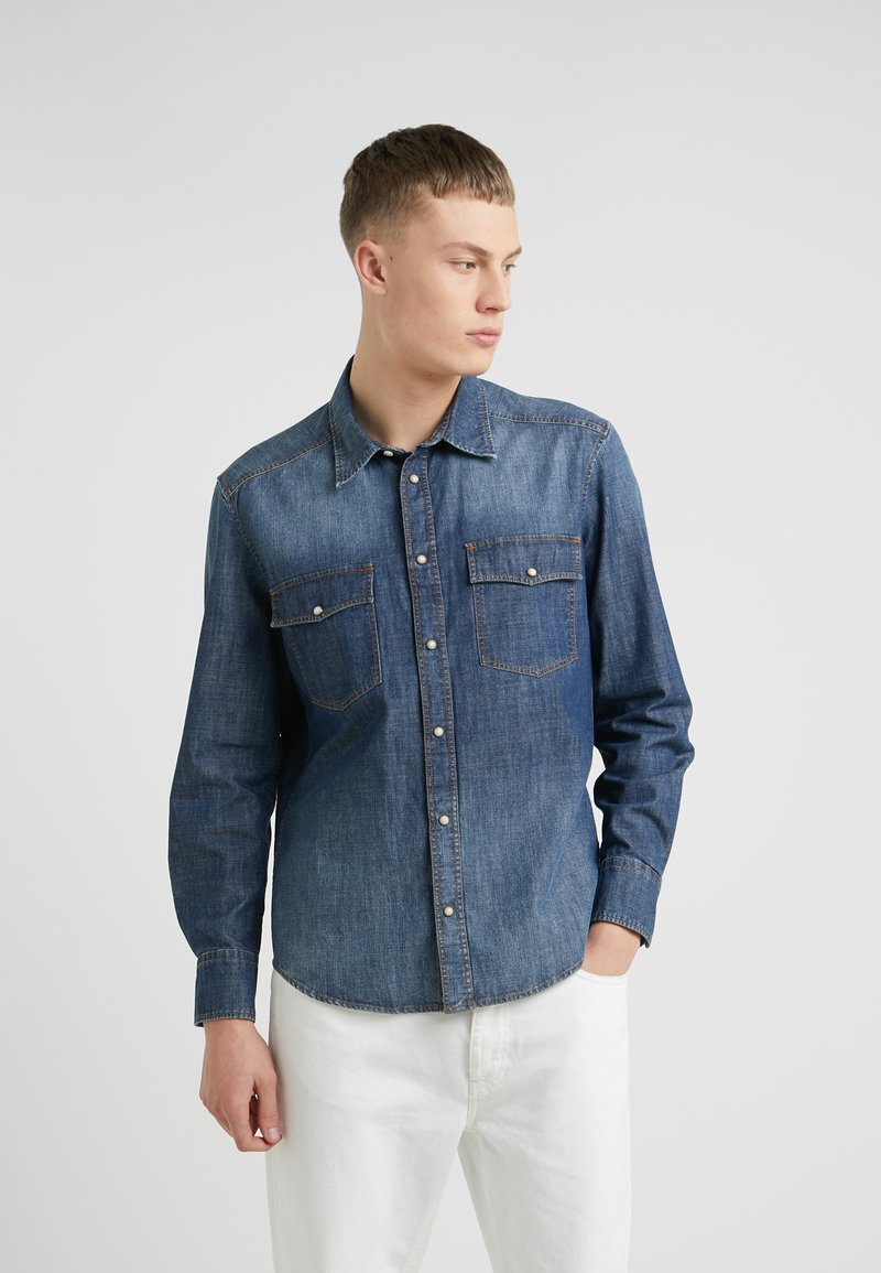 DRYKORN - JURON - Shirt - blue denim