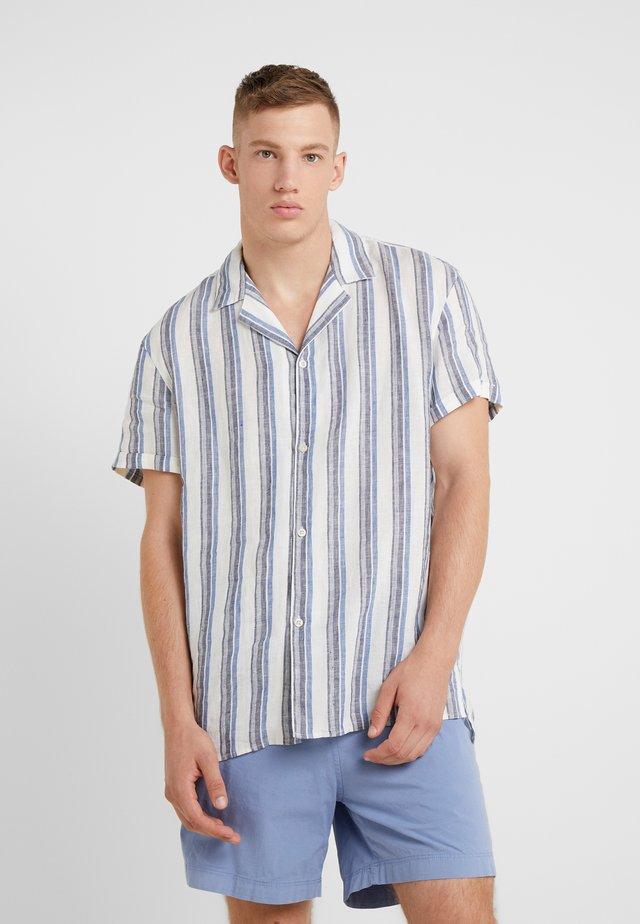 BIJAN - Skjorter - white/blue