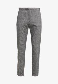 DRYKORN - Spodnie materiałowe - mottled grey - 4