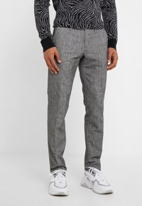 DRYKORN - Pantalon classique - mottled grey - 0