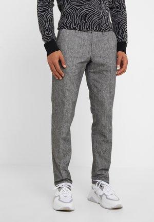 Spodnie materiałowe - mottled grey