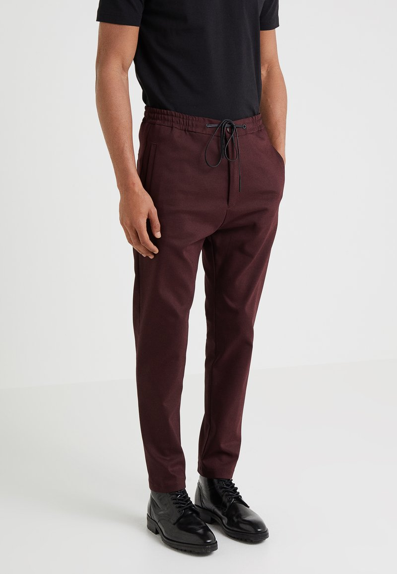 DRYKORN - JEGER - Trousers - bordeaux