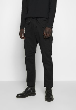 TOKEN - Cargo trousers - black