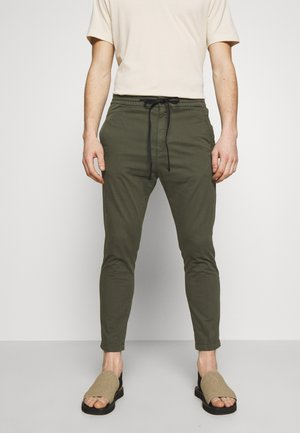 JEGER - Spodnie materiałowe - olive