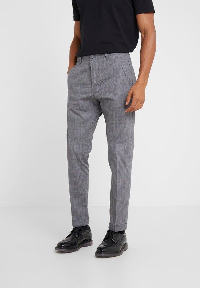 BREW - Spodnie materiałowe - grey