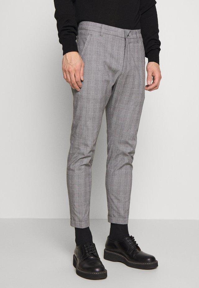 BREW - Kalhoty - grey