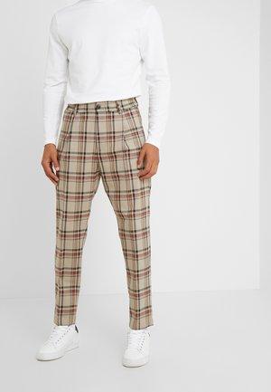 CHASY - Spodnie materiałowe - beige