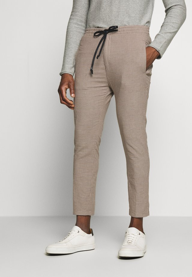 JEGER - Chinos - beige check