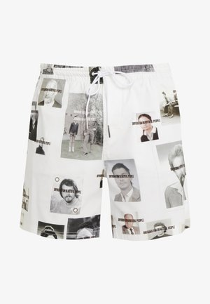 SORT - Shorts - white/black