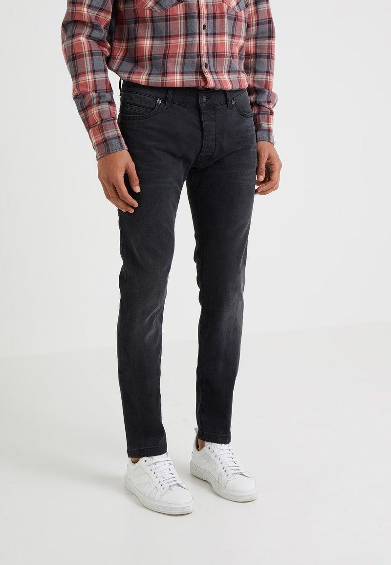 DRYKORN - JAZ - Slim fit jeans - dark grey denim