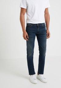 DRYKORN - JAW - Slim fit jeans - dark blue denim - 0