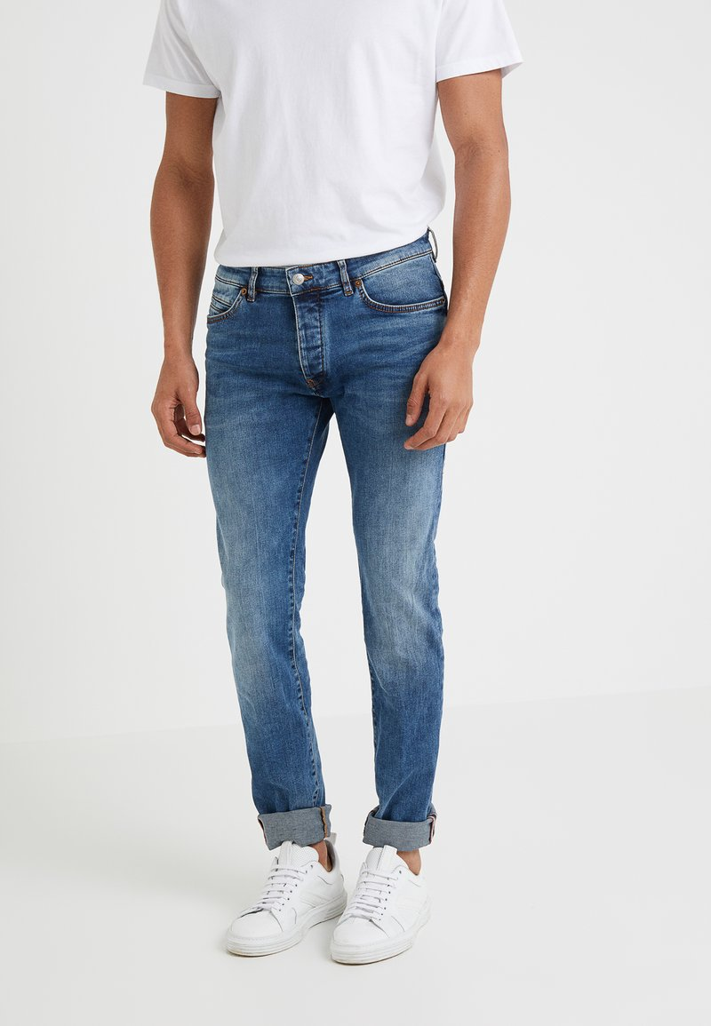 DRYKORN - JAZ - Jeans slim fit - light blue denim