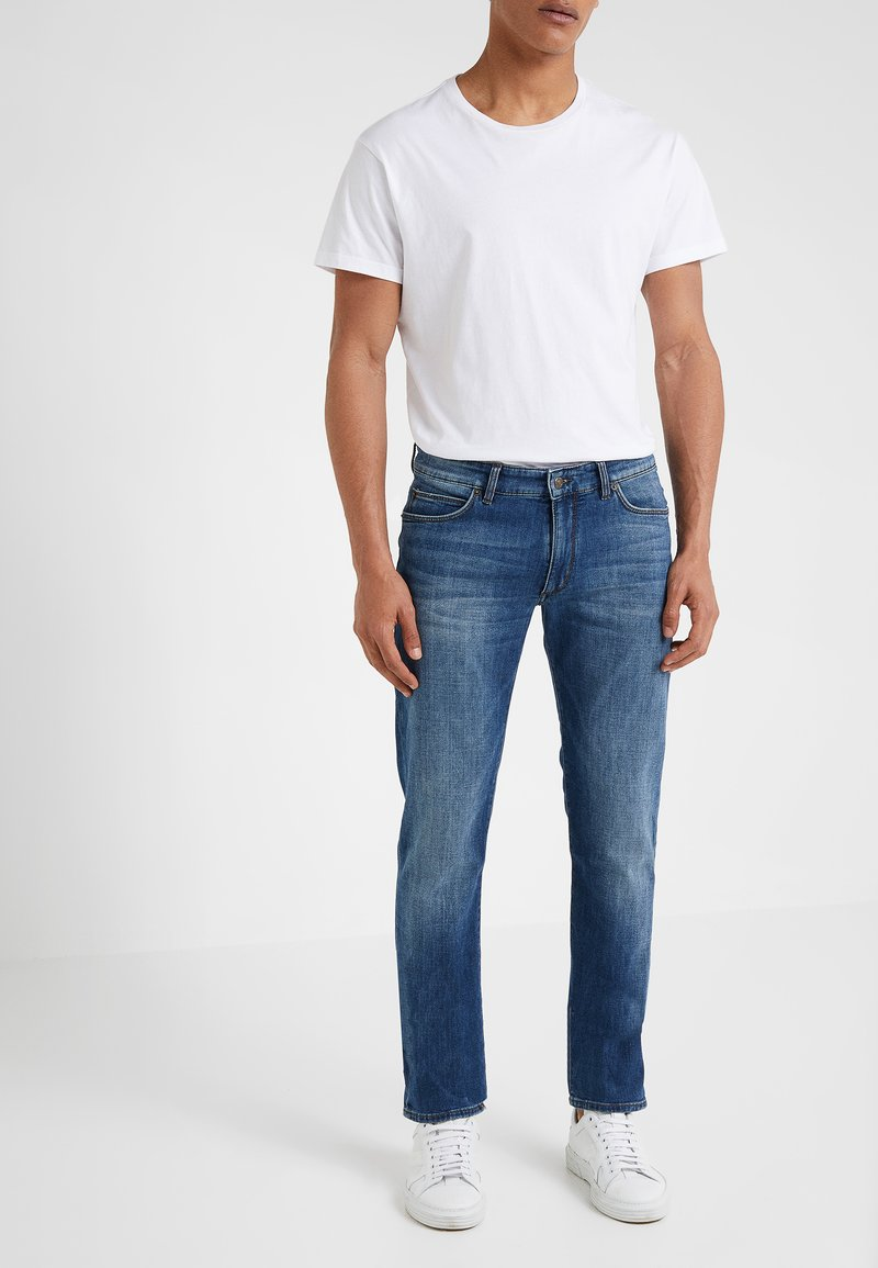 DRYKORN - JAW - Slim fit jeans - blue denim