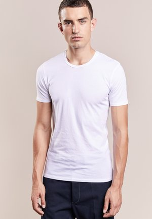 CARLO - Basic T-shirt - white
