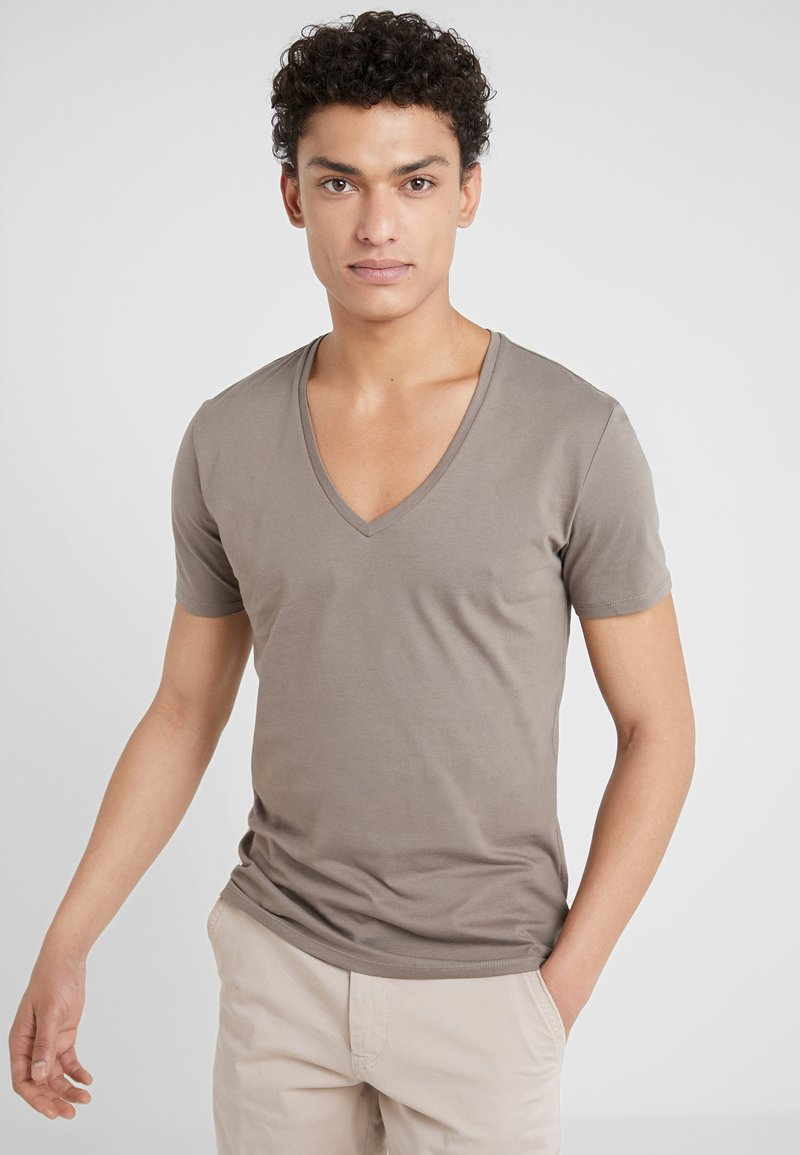 DRYKORN - QUENTIN - T-shirts basic - oliv