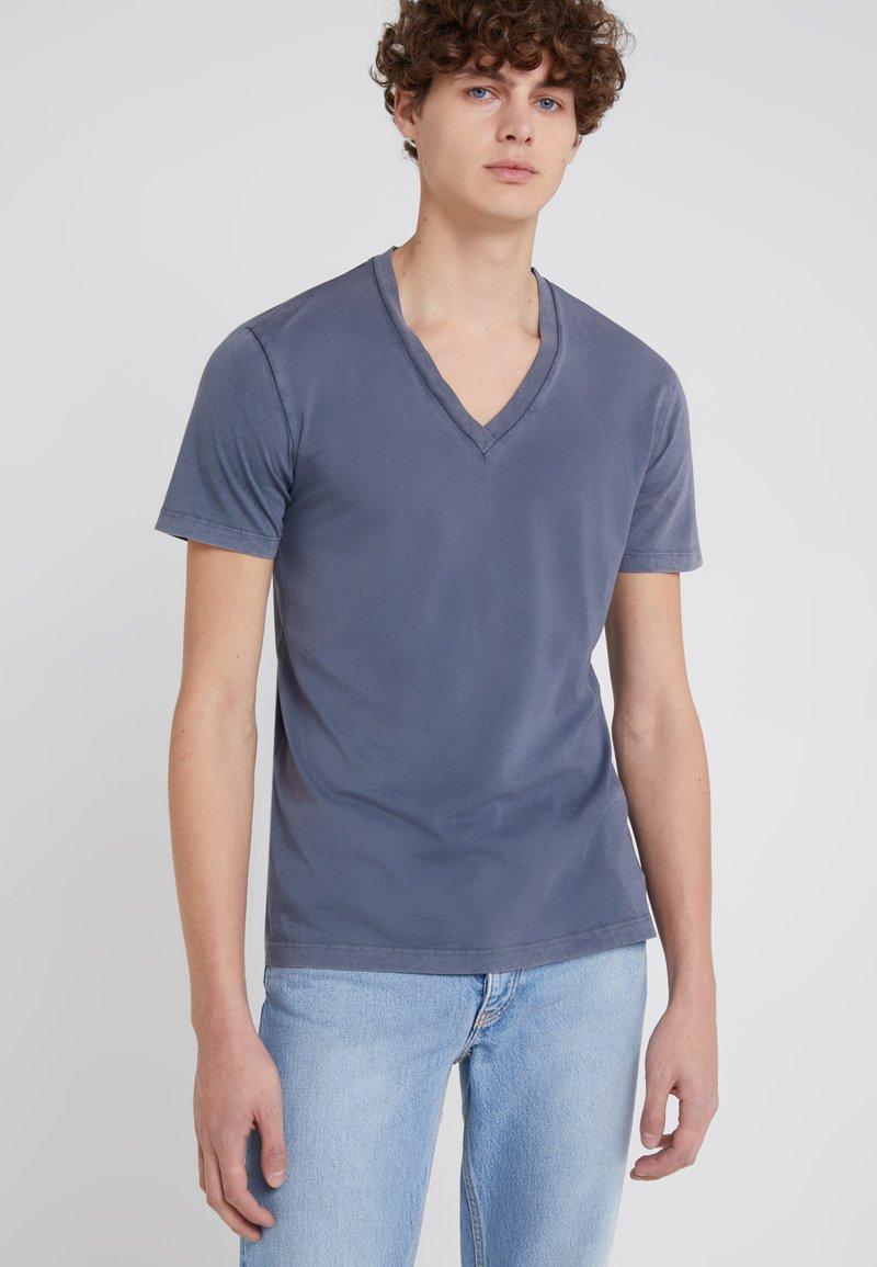 DRYKORN - LIM - T-shirt - bas - blue/grey