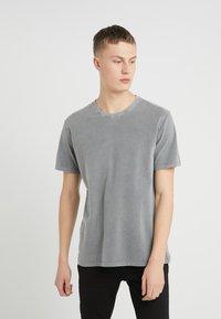 DRYKORN - LIAS - T-shirt basique - grey - 0