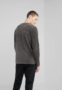 DRYKORN - ELIAH - T-shirt à manches longues - anthracite - 2