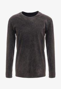 DRYKORN - ELIAH - T-shirt à manches longues - anthracite - 4