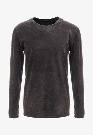 ELIAH - T-shirt à manches longues - anthracite