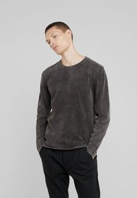 DRYKORN - ELIAH - T-shirt à manches longues - anthracite - 0