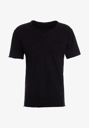 TEO - Basic T-shirt - schwarz