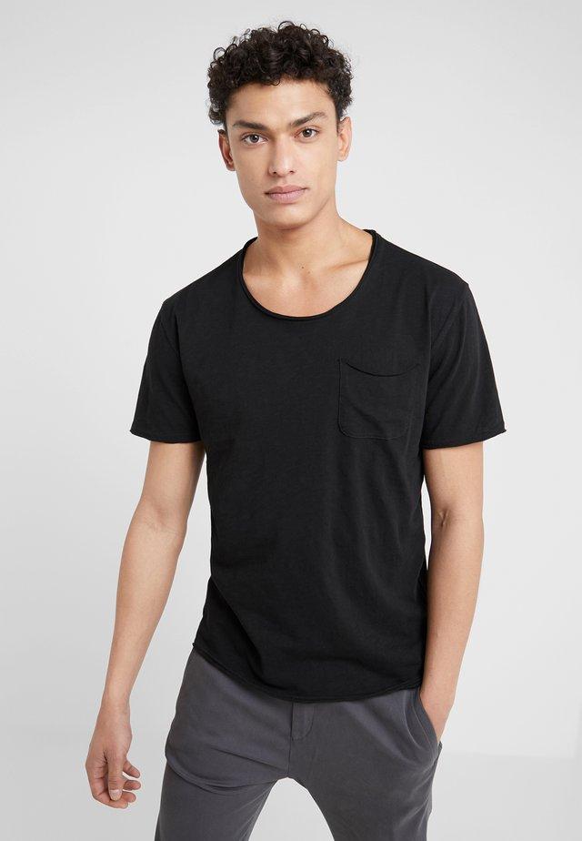 TEO - T-shirt basic - schwarz