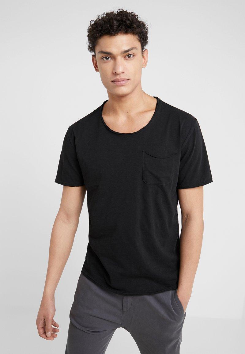 DRYKORN - TEO - Basic T-shirt - schwarz