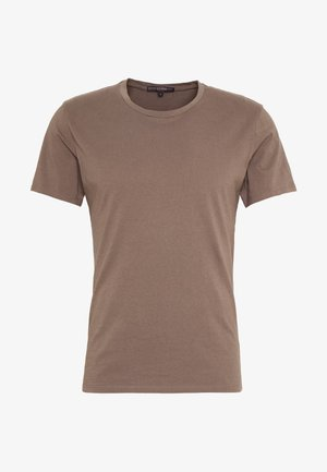 CARLO - T-shirt basic - khaki