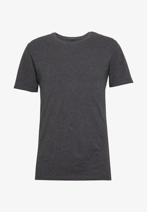 CARLO - T-shirts basic - anthra