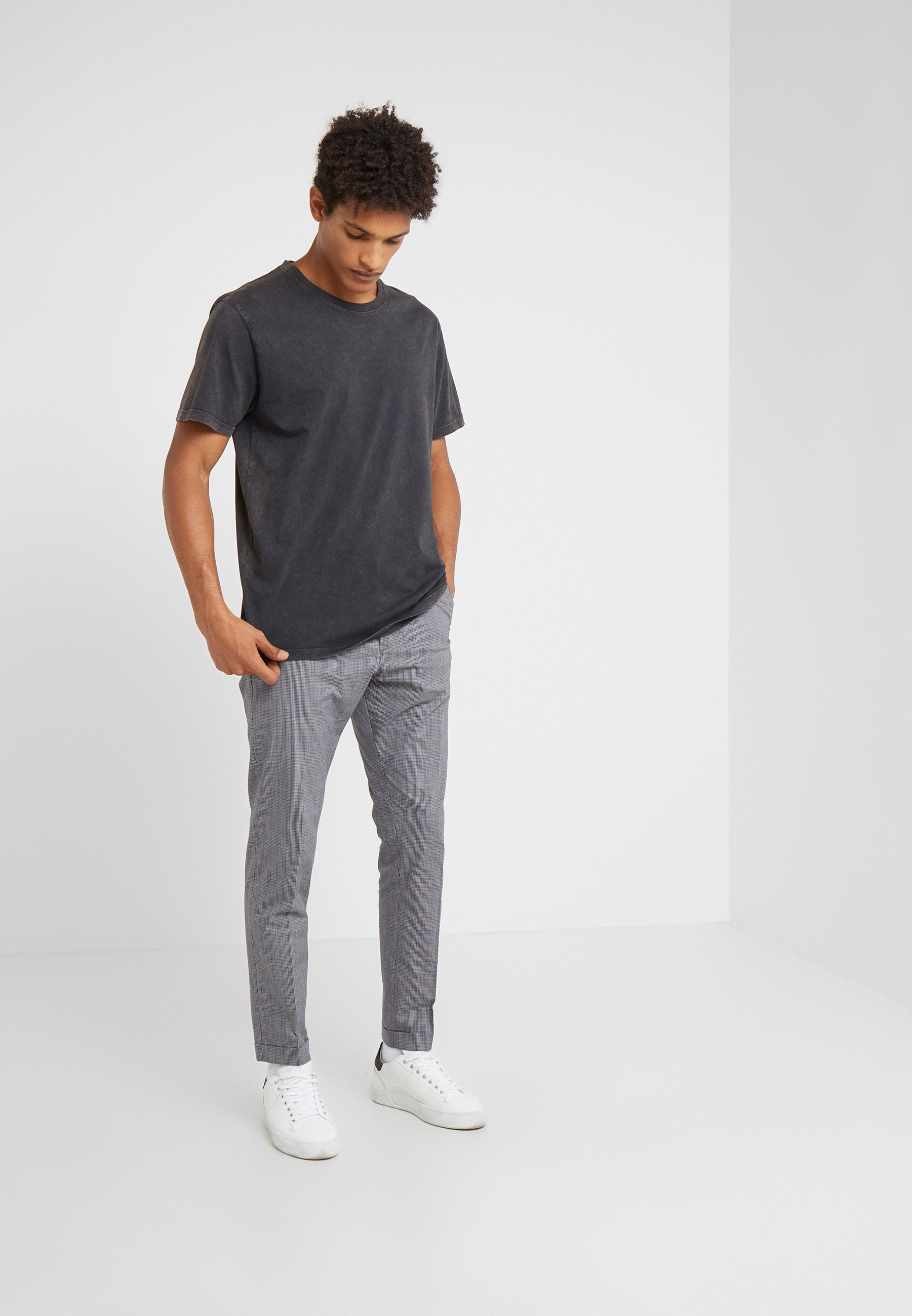 Drykorn Samuel - T-shirts Basic Anthracite